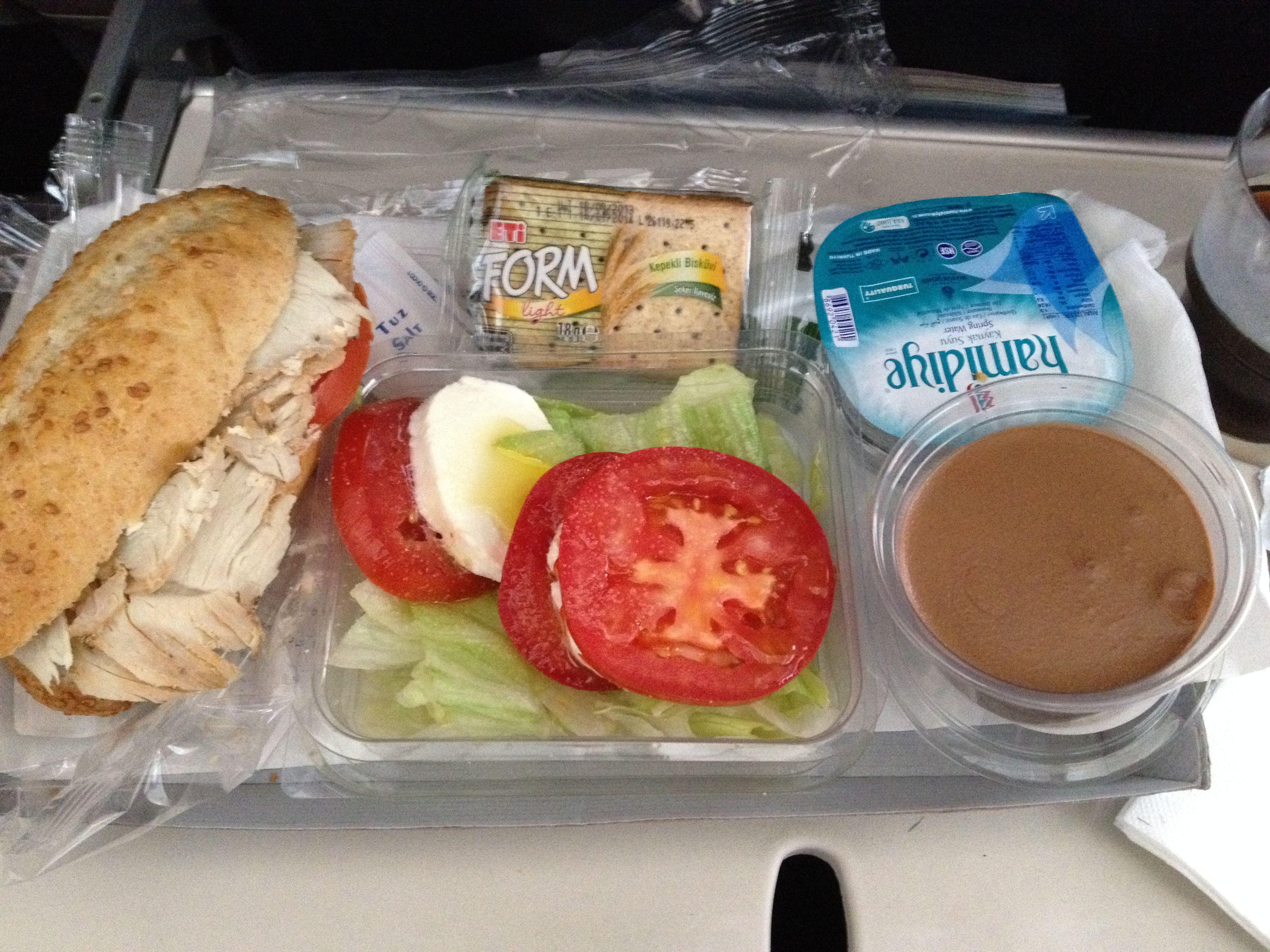 Best Airline Food Economy